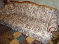 Beautiful Broyhill Couch And Matching Reclining Chair