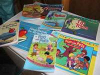 Large Lot of A Beka First Grade Readers Includes: