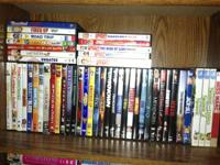 i hove lots of dvds for sale. smallville seasons 1-9,