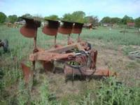 A-C 4 BOTTOM ROLL OVER PLOW IN GREAT SHAPE!!!! FOR