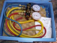 For Sale: Imperial Eastman Service Manifold for A/C and