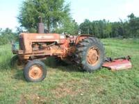 45 h.p. tractor,gas with 3 point and p.s. Runs