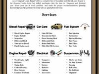 A& A COMPLETE AUTO REPAIR  DOMESTIC & FOREIGN FREE