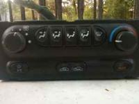 Chevy S10 a/c heater control unit out of a 97 model,