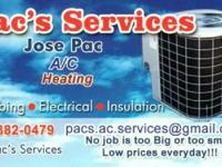 We offer repairs, and full installations at reasonable