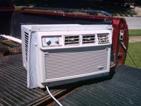 Used Whirlpool a/c & heater window unit. a/c 7800