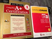 I have two A+ Certification books I am looking to sell.