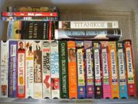 This is a various collection of movies, tv series,