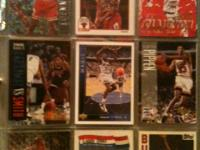 I have a collection of old basketball cards of 1100