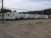 A DOZEN TRAVEL TRAILERS AND 5TH WHEEL CAMPERS $3,000 to