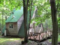 A-Frame Cabin for lease. Great for hunting and fishing