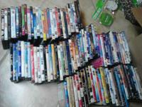 I Have about  A hundred Dvds. I am willing to trade for