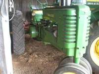 from a collection of antique tractors dern good ole A