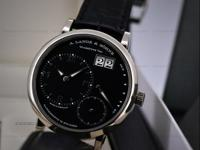 This is an 18K white gold A. Lange & Sohne Grand Lange