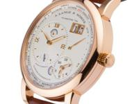 This is a A. Lange and Shne, Lange 1 Time Zone for sale