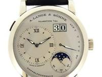 A. Lange & Sohne platinum Moonphase, manual, size