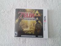 This is for the 3DS video game Zelda A Link Between