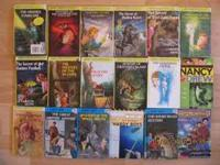 All books are used. There are 13 Nancy Drew Books, 4