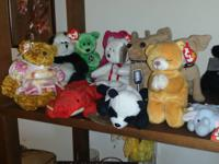 A whole lot of beanie babies. .. Serious best offers