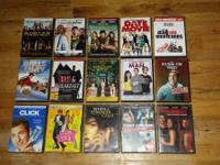 I have a lot of dvd films up for sale ... they are all