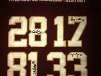 This is a redskins players of the century jersey it is