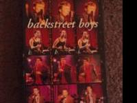 I've got A night out with the Backstreet Boys on vhs