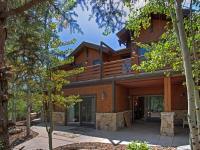 A rare Aspen Springs Ranch home. Set among a large