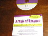 A Sign of Respect DVD needed for a lot of ASL classes