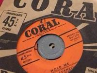 A selections of 1950's 45 RPM's from Capitol, London,