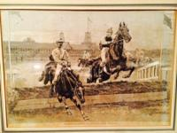 A Steeplechase at Monmouth Park- draws by T. De