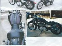 ONLY 5025 MILES............2007 XL Low Custom, A
