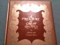 A TREASURY OF GREAT RECIPES COOKBOOK, BY MARY AND