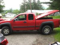 For sale a 2004 Chevy Colorado LS. Ex Cab 5-speed