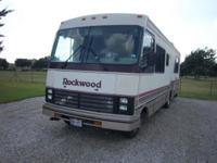 1992 Rockwood A1285 Regent Series 30 ' Class A