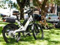 TWO 2014 A2B ALVA PLUS EBIKES, BLACK AND WHITE, LOW