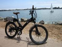 LIKE NEW 2012 A2B VELOCITI 24 ELECTRIC BICYCLE. DIGITAL