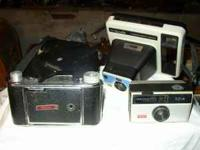 A FEW VERY OLD CAMERAS, $15 CALL:  OR  OR
