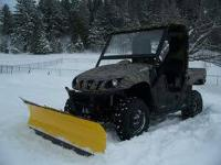 ATV PLOW SALE - ANY MAKE OR DESIGN QUAD.  LOWEST PRICES