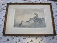 I have a great etching by the well listed artist Leon