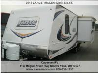 2015 LANCE TRAILER 2285 Address: 1190 Rogue River Hwy