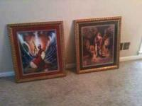 Framed Artwork By Aaron Hicks-- Daniel's Faith in GOD