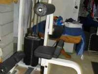 AB/Back machine 10-210 Lbs. Weight 2-Seats adjustable