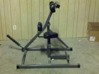 This is a abdominal / core exersise machine made by