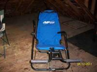 Have an ab lounger for sale really has never been use
