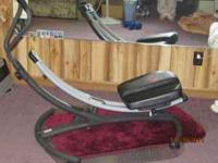 Pro Form AB GLIDER, has dvd to go with, gently used