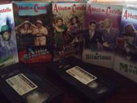 Gift set 5 vhs tapes color in black and white 3 have