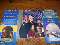 "Abeka readers 3.1-3.8 and Abeka History ""Our American"