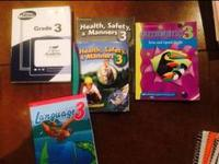 3rd grade Abeka books I have  -3rd grade video manual