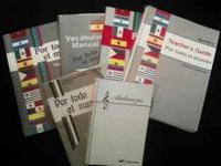 ABEKA SPANISH 1 BOOKS All Good - Great Condition! Por
