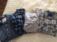 4 Shirts excellent condition. (S) 11 T-Shirts excellent